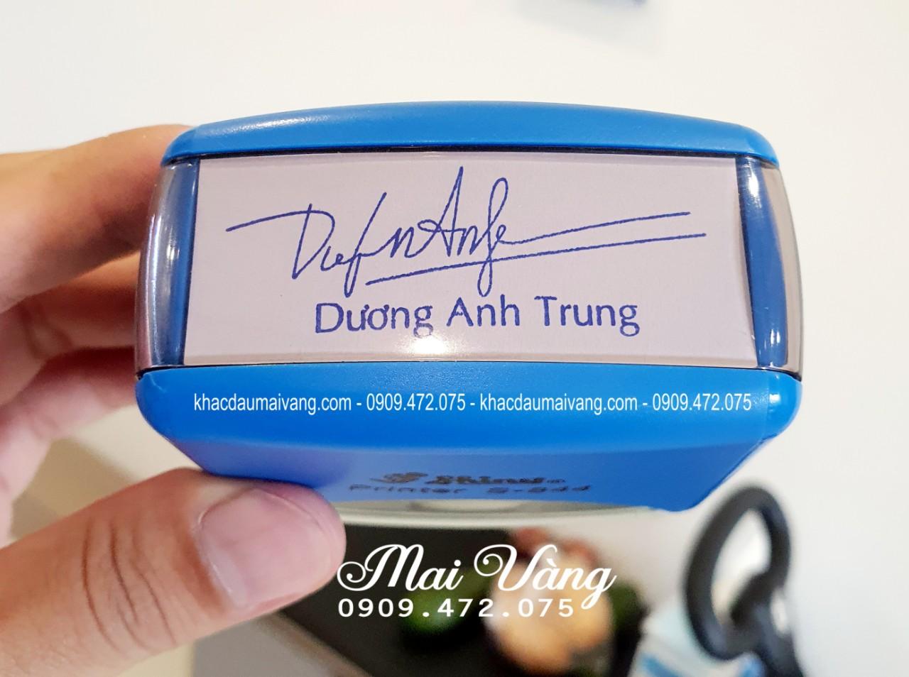 Dịch vụ khắc dấu chuyên nghiệp tại Quận 9 - Thủ Đức, nhận làm con dấu giá rẻ lấy liền
