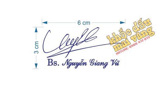 Cách đo con dấu chữ ký 2