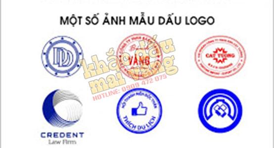 Mẫu con dấu logo 3