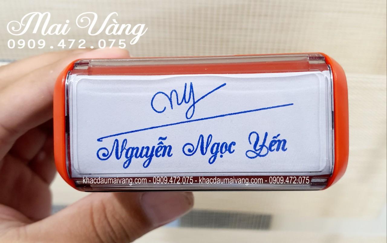 khắc con dấu chữ ký kèm tên tại Hà Nội, dịch vụ làm con dấu lấy nhanh giao hàng tân nơi, xuất hóa đơn VAT