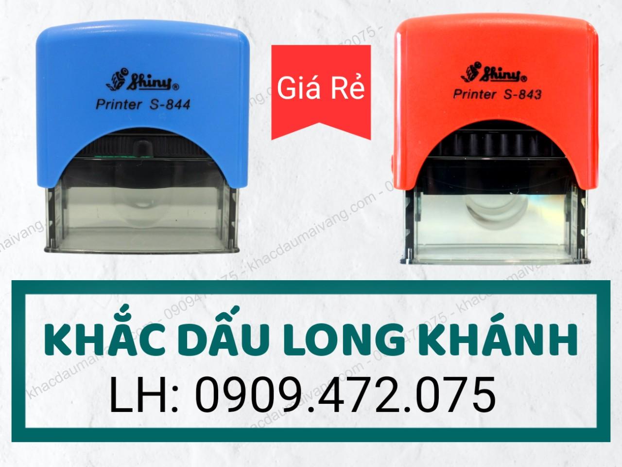 hiện tại Khắc Dấu Mai Vàng Là Chi Nhánh làm con dấu tại Long Khánh Đồng Nai giá rẻ, uy tín giao hàng nhanh trong ngày