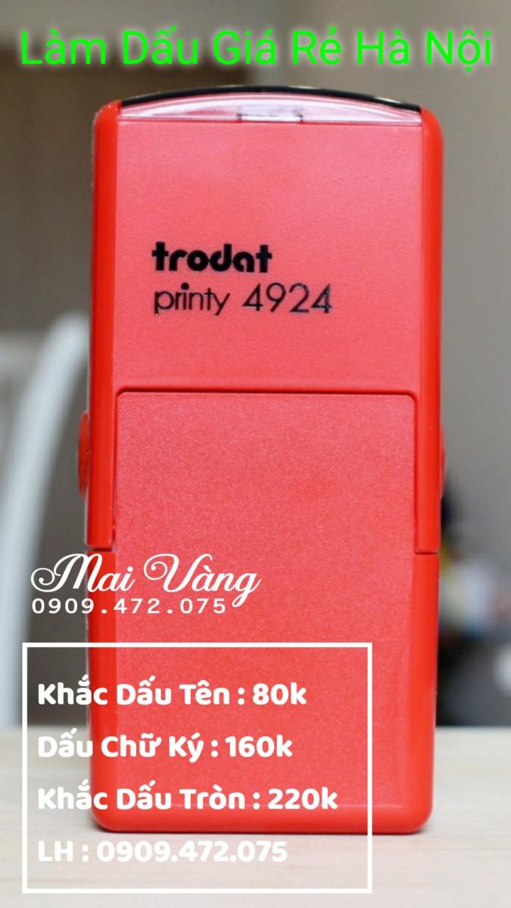 Công Ty Khắc Dấu Mai Vàng Cung Cấp Dịch Vụ Làm Con Dấu Giả Rẻ Tại Hà Nội, giảm giá với khách hàng làm số lượng nhiều