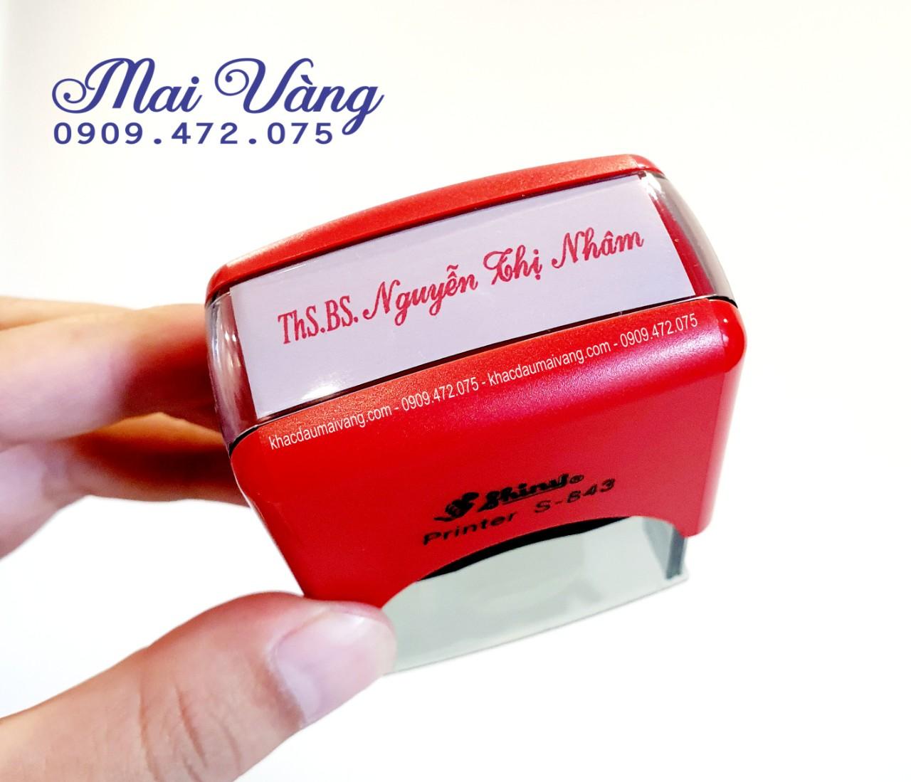 Quý khách đang cần làm con dấu tên tại Long Biên HN, dịch vụ làm con dấu giá rẻ lấy liền