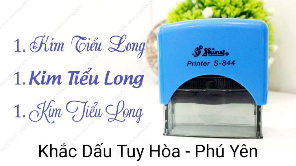 Dịch vụ làm con dấu tại Tuy Hòa Phú Yên. nhận giao công các loại con dấu giá rẻ tại Phú Yên.
