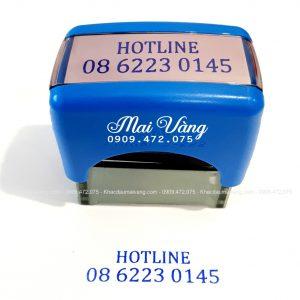 Dấu Số Hotline 0909 472 075 Làm Con Dấu Giá Rẻ Giao Hàng Tận Nơi, Luôn Có Nhiều Ưu Đãi Giảm Giá Khách Làm Số Lượng Nhiều - Xuất Hóa Đơn VAT 10%
